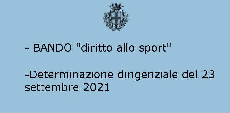 Diritto allo sport